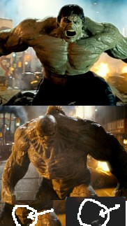 Where'd the Hulk's balls go???
