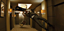 floating fist fight from Inception