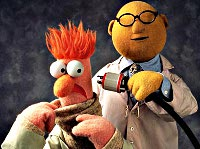 Beaker and Dr Honeydew