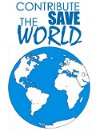 contribute save the world
