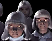 creepy children