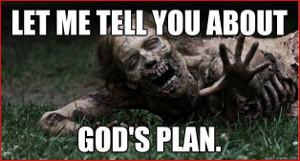 Zombie preacher!