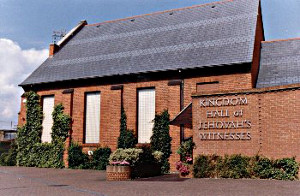 Never seen a Kingdom Hall like this either...