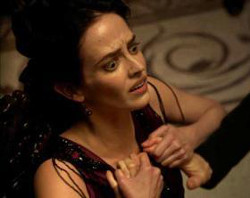 Eva Green gets felt up.