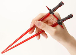Lightsaber chopsticks are a thing