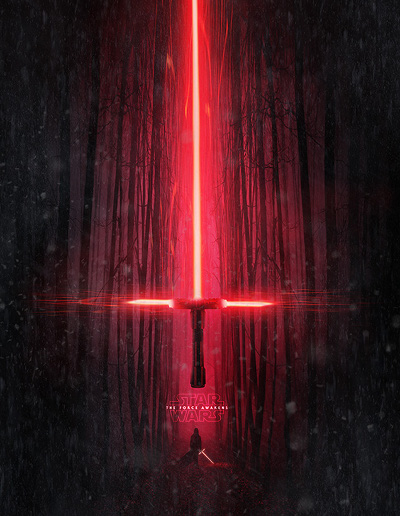 Lightsaber from Star Wars The Force Awakens